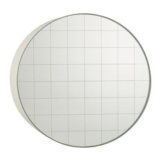 Sphere Wall Mirror, Signal White, 75x75 cm