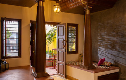 Kanchipuram Houzz: Athangudi Tiles & Oxide Finishes Define This Home