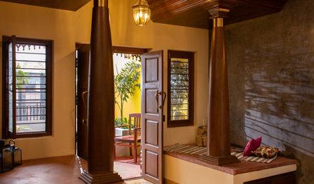 Kanchipuram Houzz: Athangudi Tiles & Oxide Finishes Define This Home