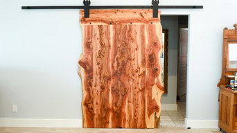 Red Cedar Sliding Barn Door