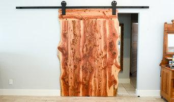 Red Cedar Sliding Barn Door