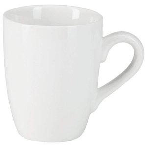 Set 6 Kent Mugs White bone China