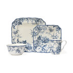 Adelaide 16-Piece Dinnerware Set, Blue