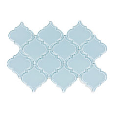Vapor Arabesque Glass Tile, Sample