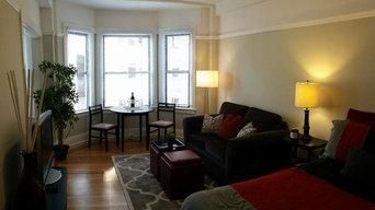 380 sq ft SF Studio Apartment