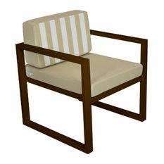 Outdoor Munich Lounge Chair, Bronze