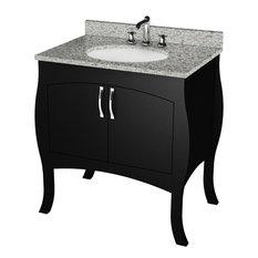 Curved Bathroom Vanities | Houzz