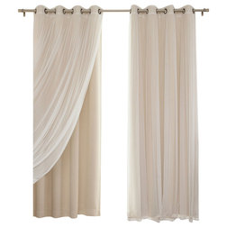 Contemporary Curtains by Best Home Fashion