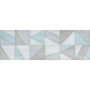 Texas Multi Colour Decor Tiles, Set of 20