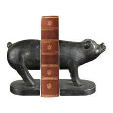 Pork Fiction Bookend in Dark Bronze