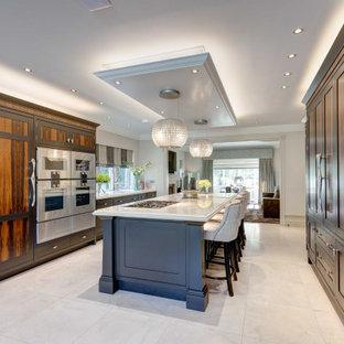 Ziricote & Pewter Kitchen