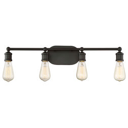 Industrial Bathroom Vanity Lighting by Savoy House