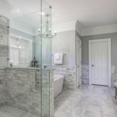 Inspiration for a timeless home design remodel in Columbus