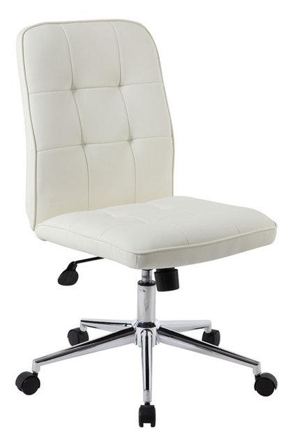 Boss Office Furniture Modern Office Chair, White