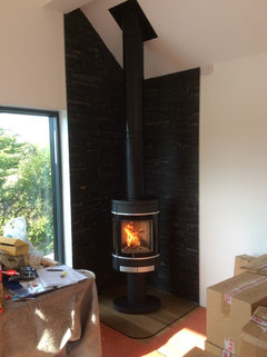 Woodburner In The Corner Of A Room Photos Please