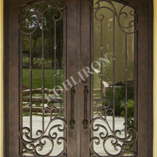 Wrought Iron Doors-Remembrance of Things Past