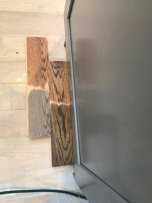 Help Choosing Stain Color For Red Oak Dark Walnut Vs Provincial