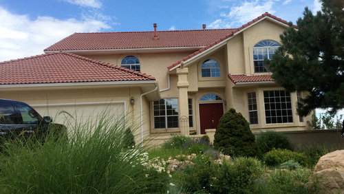 Help!! Update 80's Mediterranean with red tile roof to ...