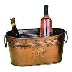 Otto Metal Wine Bucket