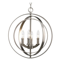 Progress Lighting P3827-126 4-Light Foyer with Matching Candle Sleeves