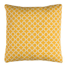"Rizzy Home TFV075 22"" x 22""  Indoor/ Outdoor Pillow"