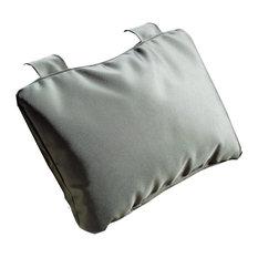 DWBA Luxury Bathtub and Spa Bath Pillow Cushion with Suction Cups, Nylon