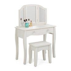 4d Concepts Lindsay Vanity With Stool Kids Bedroom Vanities