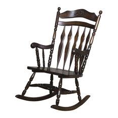 Coaster Furniture   Coaster Furniture Rocker Chair, Walnut   Rocking Chairs