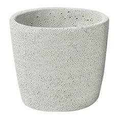 Mini Cone Cement Planters, Set of 4