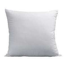 Plush Gel-Fiber Filled Pillows, 1,500TC Microfiber, Euro, Set of 2