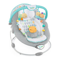 - Taggies Soft n Snug Bouncer Leafscape - Baby Swings and Bouncers