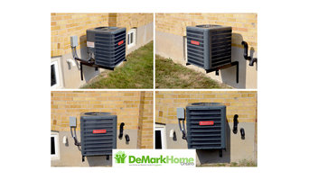 Air Conditioner installation Before and After
