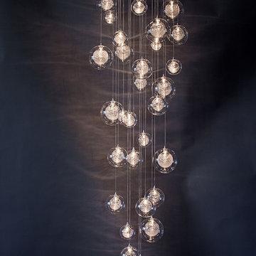 Globo - HandBlown Glass Pendants - GCB26
