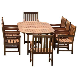 Unique Contemporary Outdoor Dining Sets by International Home Miami Corp