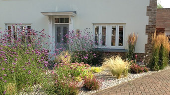 Various front gardens