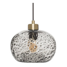Drop Pendant Lighting 25 most popular drop pendant lights for 2018 houzz funnelye inc rustic seeded glass drop ceiling light with black sand powder pendant audiocablefo