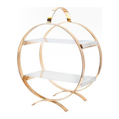 Circle Cake Stand, 2-tier, Serving Tray, Small