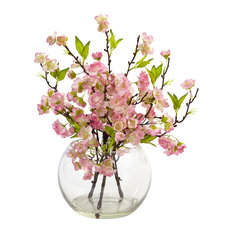 Cherry Blossom In Large Vase