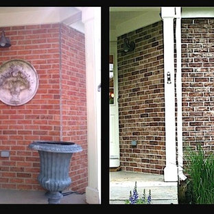 Crystal Lake, IL Exterior Brick Staining Project