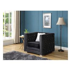 Chair Black Velvet
