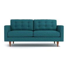 Apt2B   Logan Sofa, Chicago Blue   Sofas