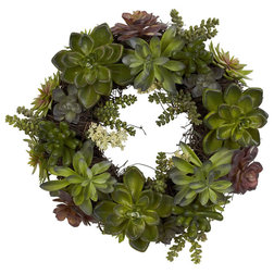Contemporary Wreaths And Garlands by Bathroom Marketplace