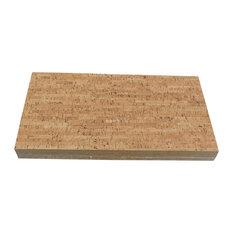"1/4"" (6mm) Forna Glue Down Cork Tiles, Silver Birch"
