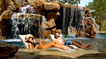 Swimming Pool Waterfalls and features