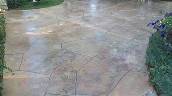 Flagstone  Patio  Look