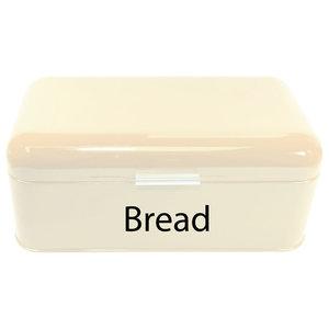 Chef Vida Curved Bread Bin, Cream
