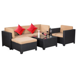 Tropical Outdoor Lounge Sets by River Source Inc.