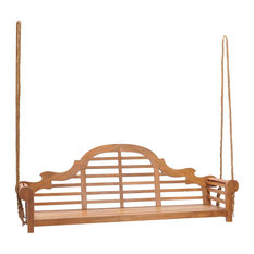Teak Wood Lutyens Triple Porch Swing