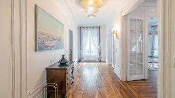 Appartement à Neuilly-sur-Seine (Home Staging et Ameublement pour Location)