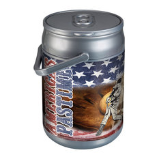 Picnic Time America's Pastime Cooler Can